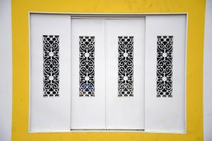 detalhes janela do coreto