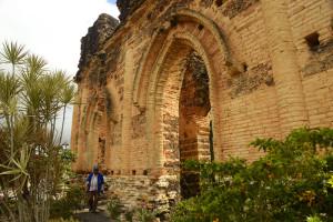fachada das ruínas em alagoinhas