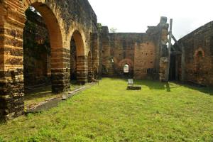 ruínas franciscanas