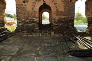 altar e piso igreja em alagoinhas