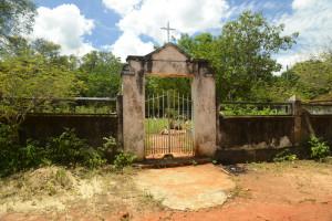 entrada do cemitério em brejo do amparo