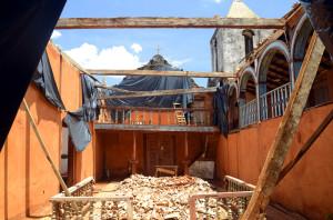 espaço aberto igreja do rosário