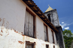 lateral da igreja do rosário
