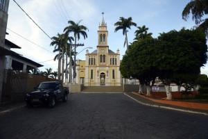praça da matriz em brasília de minas