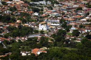 igreja do rosário e centro de pirenópolis