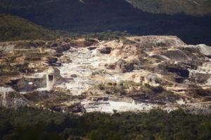 mineração de pedra pirenópolis