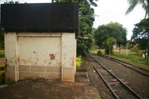 caixa d'agua do trem a vapor