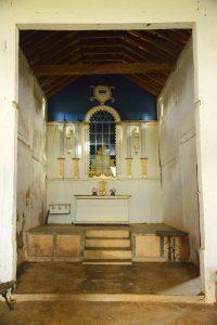 altar da igreja do rosário em desemboque